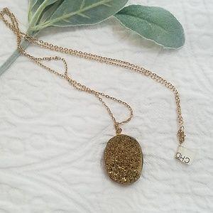 🧡2/10$ Pyrite gemstone necklace